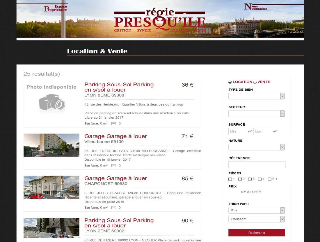 capture site régie presqu'ile 1